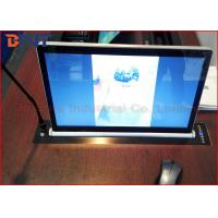 China Microphone Vertical Motorized LCD Monitor Lift With 17.3 Inch LED Screen wholesale