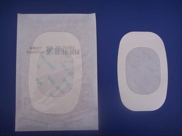 Quality Medical Wound Plaster PU transparent IV dressing plaster A0607 for sale