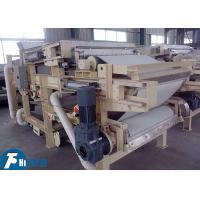 China Industrial Belt Filter Press Machine Continuous Work Type For Sludge Dewatering on sale