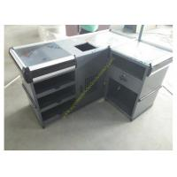China Useful Design Convience Store Metal Cash Counter Used In Shopping wholesale