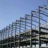 China Q345B  Garage Steel Frame Grey Color Paint, Industrial Garage 5000 square meter wholesale