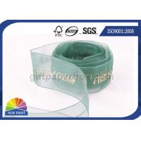 China Sheer Packaging gift wrap Organza ribbon for Wedding Florist Corporate wholesale