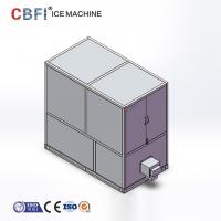 Buy cheap 1 Ton Industrial Automatic Edible Large Ice Cube Maker With CE Certificate from wholesalers