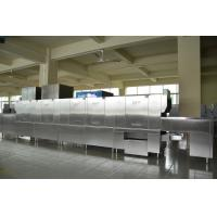 China 730KG Stainless Steel Long chain dishwasher ECO-L730CP2H2 for Hotels wholesale
