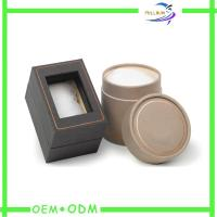 Small Unique Cardboard Jewelry Gift Boxes With Clear Window On Lid