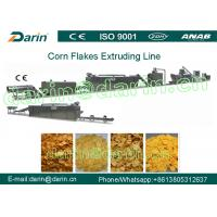 China Full Automation Corn Flakes Processing Machine Stable Large Capacity on sale