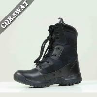 China Fashionable Genuine leather Army Tactical Military Half Boots on sale