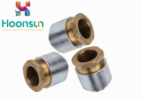 Quality TH Standard Type Metric Thread Chromium Plated Marine Cable Gland with Silicone rubber for sale