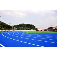 China Customized Blue Track And Field Rubber Runway No Smell Environmental Protection on sale