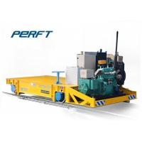 China 20 Ton BQY Engine Heavy Duty Plant Trailer On Rail for Industrial Transportation on sale