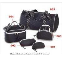 China cosmetic bag set wholesale