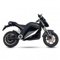 China High Performance City Electric Motorcycle , Electric Motorcycle Scooter Black Color wholesale