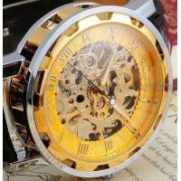 Buy cheap Businessman Style Manual Hollow Mechanical Male Ladies Watches Mens from wholesalers