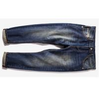 China Raw Stretch Selvedge Denim Jeans For Autumn , 31mm Light Mens Selvedge Jeans wholesale