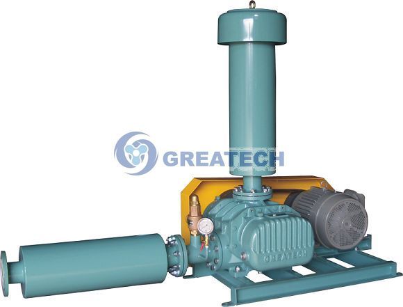 Quality Greatech Tri. Lobe Roots Blower (water treatment,aquaculture,sewage, diffuser) for sale