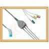 China El cable/3 de 8 Pin Nihon Kohden Ecg lleva el IEC del capturador del cable de Ecg wholesale