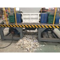 China Woven bag Shredder machine Double shaft Shredder machine with good feedback high capacity and low cost wholesale