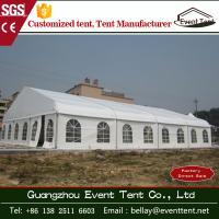 China Wedding / Event Marquee Curved Trade Show Tent 20 * 30m Hot - Dip Galvanized Steel wholesale