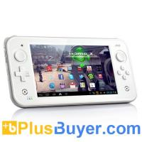 China JXD S7300 - 7 Inch Android 4.1 Gaming Console Tablet (1.3GHz Dual Core CPU, Dual Joysticks, 8GB Memory, Emulator) on sale