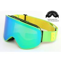 China Interchangeable Lens Multi Coloured Ski Goggles Anti - Winds With Good Protection wholesale