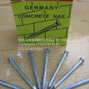 China Concrete nail, Building nail, Iron nai, Galvanied iron nail wholesale