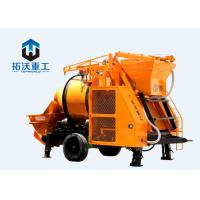 Buy cheap IOS Certification Concrete Mixer Pump Large Capacity Diesel Engine For Tunnels from wholesalers
