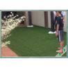 V Shaped Green Outdoor Artificial Grass Comfortable Courtyard Artificial Grass Turf