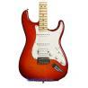 China Fender Deluxe Strat Plus HSS iOS - Aged Cherry Burst/fender stratocaster sunburst wholesale