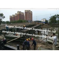 China Chinese Steel Fabricator Supply Prefabricated Steel Structural Bailey Bridge Of Reinforced Steel Q345 wholesale