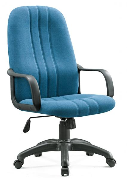 Quality Trendy  Conference Room Fabric Office Chairs High Back Adjustable Height for sale