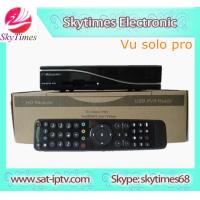 China Linux receiver VU SOLO PRO IPTV on sale