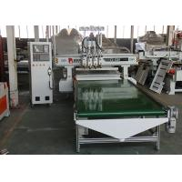 China Automatic 3 Spindle Woodworking CNC Router Machine No Deformation And Vibration wholesale