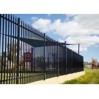 China Decorative Garden Stainless Steel Fence / Gate With Anti - Theft Screws on sale
