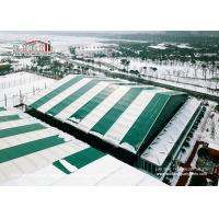 China 40x70m Huge Green Color Sport Event Tents For Temporary Football Training wholesale