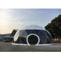 China Heavy Duty Geodesic Dome Tent 24m Diameter For Garden Shelters / Park Ornaments wholesale