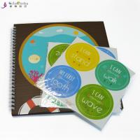China Professional Baby Memory Books Record First Year Envelope Baby Feet Hand Ink on sale