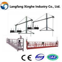 China zlp800 ce certificate suspended wire rope platform/ working cradle/ lifting gondola wholesale