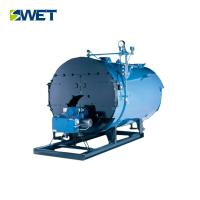 China Hi Efficiency 1.6mpa Oil Gas Steam Boiler , Blue Color Horizontal Steam Boiler on sale