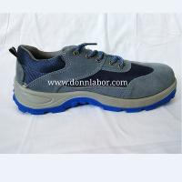 China Supply Anti-blow Safety Steel Toe Plate Leather Safety Shoes Hiking Shoes wholesale