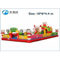 China Funny Inflatable Bounce Castle Kids Giant Obstacle Racer Bounce House wholesale