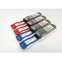 China DDM / DOM 100G QSFP28 Transceiver LR4 1310nm 10km SM Optical modules wholesale