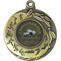 China Custom 3d Silver Ribbon Medals wholesale