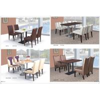 China coffee room dining set furniture wholesale
