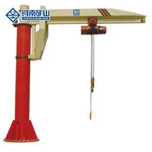 China 8m/Min 5 Ton Electric Hoist Floor Mounted Pillar Jib Crane M3 on sale