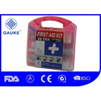 China Square Shape General OSHA ANSI First Aid Kit Fast Aid Box For Adults on sale