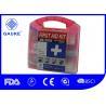 China Caja rápida general de la ayuda del equipo de primeros auxilios del ANSI del OSHA de la forma cuadrada para los adultos wholesale