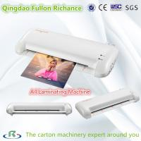 China High Efficient Low Cost A4 Size Manual Laminating Machine for Photo Menu wholesale