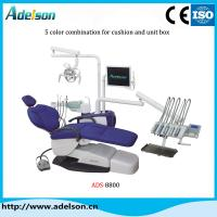 Hot sell high quality dental unit chair with top-mounted tool tray