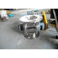 China Round Or Square Rotary Airlock Valve Casting Material  Reducing Motor wholesale