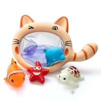China Toilets Baby Bath Time Toys , Swimming Floating Bath Toys Colorful Candy Colors on sale